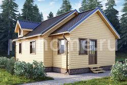 Дом из бруса 7х11 ТД20