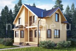 Дом из бруса 9х11 ТД23