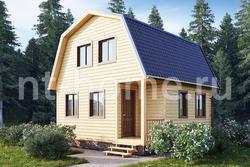 Дом из бруса 6х6 ТД12