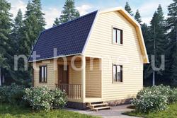 Дом из бруса 6х6 ТД11