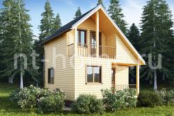 Дом из бруса 6х6 ТД18