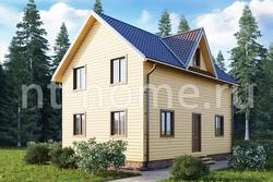 Дом из бруса 6х9 ТД4
