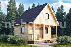 Дом из бруса 6х6 ТД7