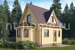 Дом из бруса 6х8 ТД29